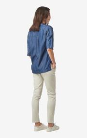 Boomerang - Kajsa indigo shirt - Indigo