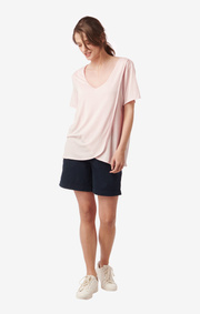 BESSIE TOP Chalk pink