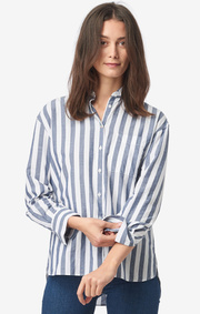 Boomerang - Camilla stripe shirt - New blue