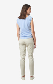 Boomerang - FREJUS SOLID PIQUÉ TOP - Cloud blue