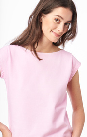 Boomerang - FREJUS SOLID PIQUÉ TOP - Middway pink