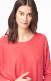 Boomerang - PLANTA SWEATER - Tomato red