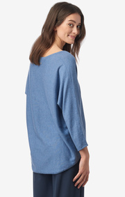 Boomerang - PLANTA SWEATER - Foggy blue