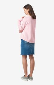 Boomerang - Maj Organic sweater - Middway pink