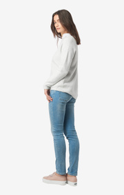 Boomerang - MAJ Organic SWEATER - Putty