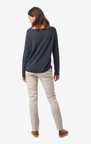 Boomerang - FREJA SWEATER - Blue nights