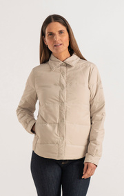 Boomerang - JONNA LIGHT DOWN OVERSHIRT - Putty