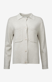 Boomerang - AVA KNITTED JACKET - Putty