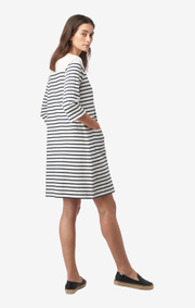 Lykke striped dress