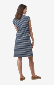 BELLA PIQUE DRESS STRIPE