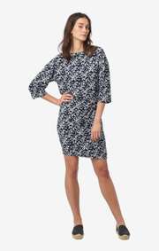 Boomerang - Nora printed dress - Blue nights