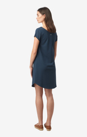 Boomerang - Millie interlock dress - Blue nights