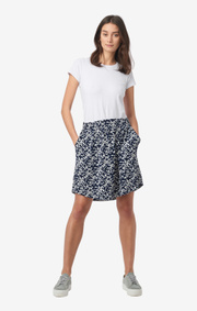 Boomerang - Milla printed skirt - Blue nights