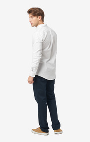 ... Nils organic cotton solid oxford t.a. fit b. shirt edb89272a8932