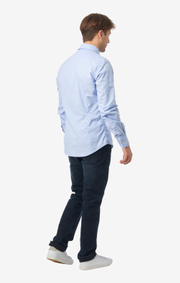 Boomerang - Nisse Organic Slim fit - Ice blue