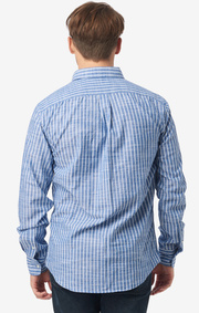 Edvin striped t.a. fit b.d. shirt