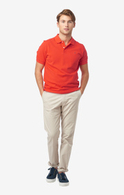 Boomerang - JOE ORGANIC COTTON POLO PIQUÉ - Tomato red