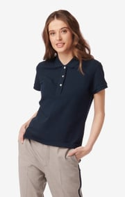 MARY POLO PIQUE SHIRT