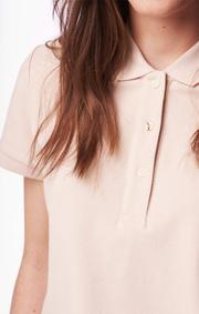 Mary polo pique shirt