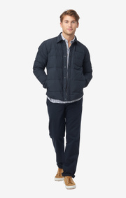 Boomerang - Oliver light down overshirt - Midnight blue