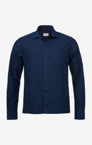 Boomerang - Kevin overprinted shirtblazer - Indigo