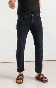 Boomerang - Oscar blue black five-pocket - Charcoal