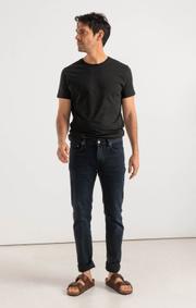 Boomerang - Oscar blue black five-pocket - Charcoal