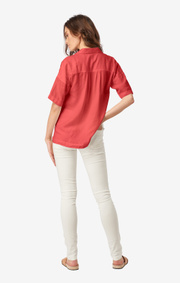 Boomerang - ALMA SHIRT - Faded red
