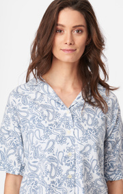 Boomerang - ALMA PRINTED SHIRT - Crown blue