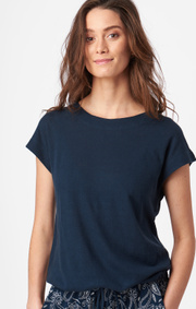 Boomerang - ALBA SOLID TOP - Midnight blue