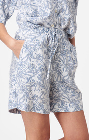 Boomerang - DINA PRINTED SHORTS - Crown blue