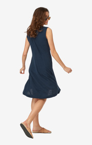 Boomerang - ELIZE JERSEY DRESS - Midnight blue