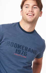 Boomerang - ARON T-SHRT - Crown blue