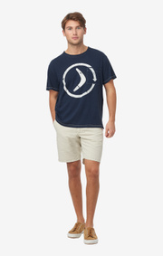 Boomerang - EDDIE T-SHIRT - Midnight blue