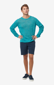 Boomerang - AXEL LINEN O-NECK SWEATER - Michaelgreen