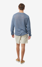 AXEL LINEN O-NECK SWEATER