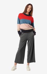 Boomerang - Chirpy jersey culotte - Dk grey mela