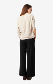 Boomerang - LUCY JERSEY PANT - Black