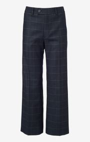 Boomerang - MEGHAN CHECKED TROUSER - Night sky