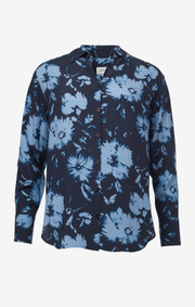 Boomerang - Adina printed blouse - Night sky