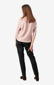 Boomerang - PLANTA SWEATER - Pale blush