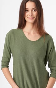 Boomerang - PLANTA SWEATER - Amazon green