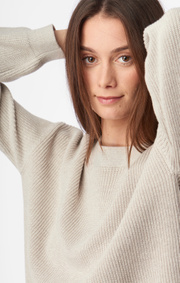 Boomerang - MARY ORGANIC COTTON SWEATER - Sand dune