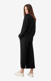 Boomerang - Rutan v-neck sweater - Black