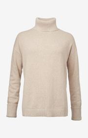 Boomerang - Ebba polo sweater - Sand dune