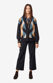 Boomerang - RAKEL CARDIGAN - Midnight blue