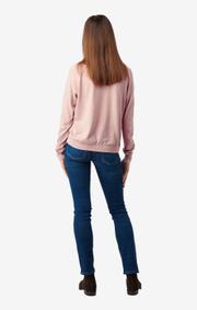 Boomerang - Sala v-neck sweater - Pale blush