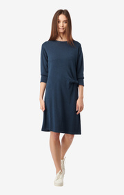 Boomerang - LOU KNITTED DRESS - Bright nautic