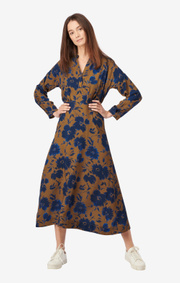Boomerang - SALLY PRINTED DRESS - Cinnamon