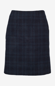 Boomerang - VANJA CHECKED SKIRT - Night sky